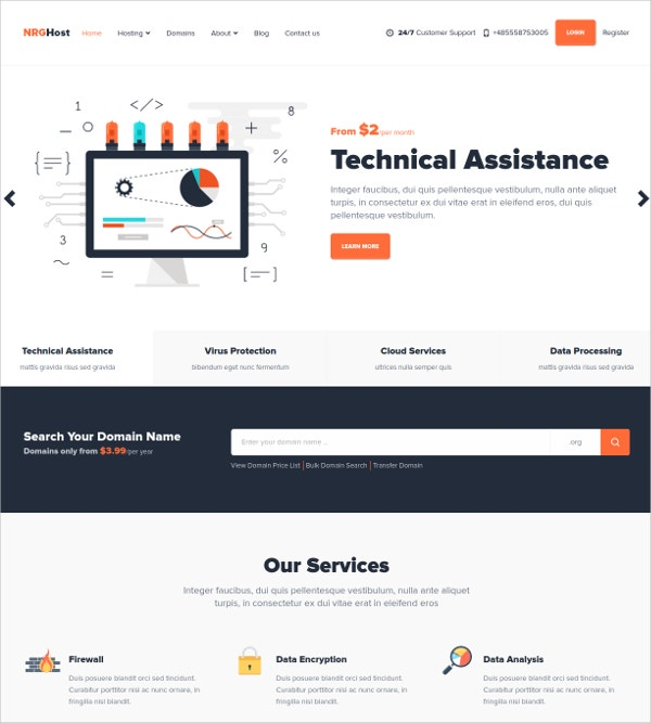 Responsive Technology Mura Theme $48