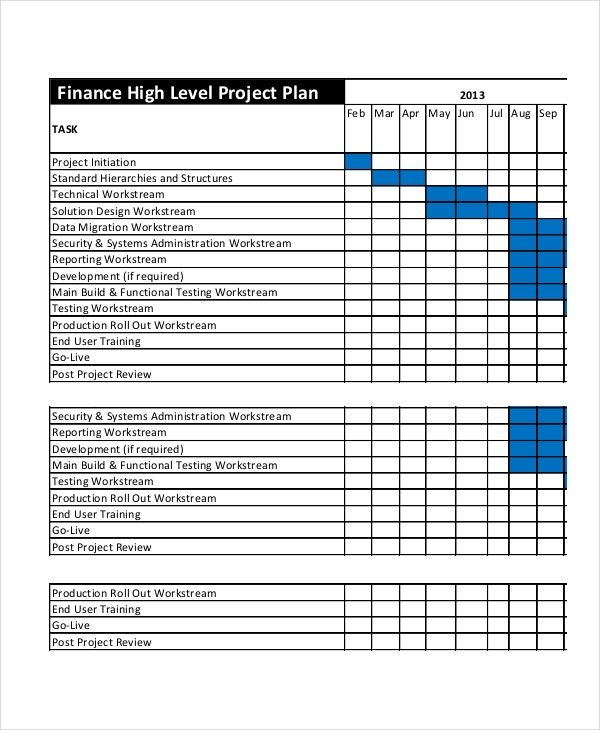simple training plan template project plan template 12 free word psd pdf documents