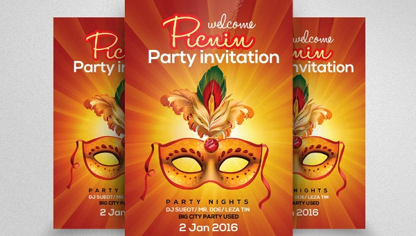 carnvialpartyinvitationtemplates