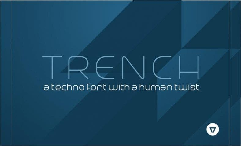 Trench Free Font