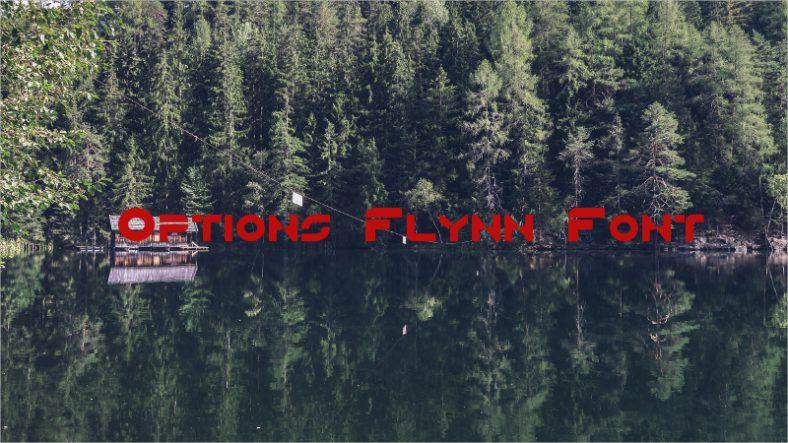 Options Flynn Font