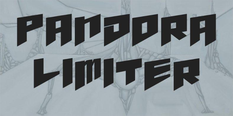 Pandora Limiter Font