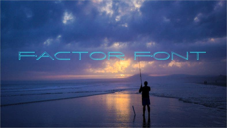 Factor Font Free Download