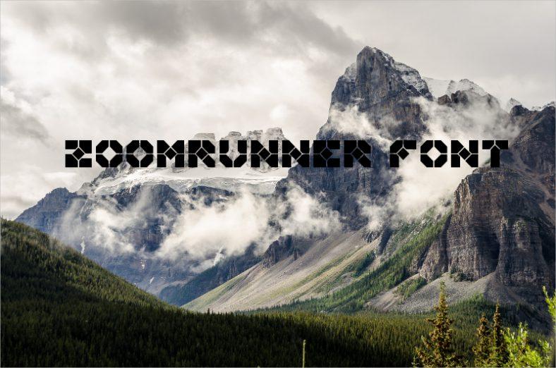 Zoomrunner Font