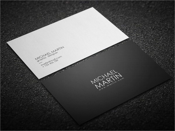31 modern business card templates free eps ai psd format minimalist business card template wajeb Image collections