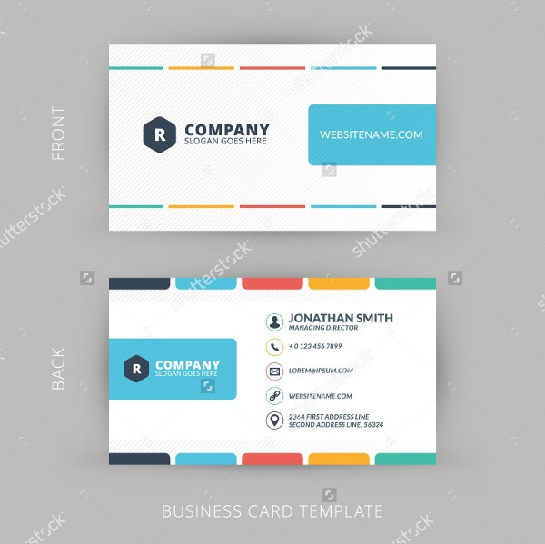 abstract business card1