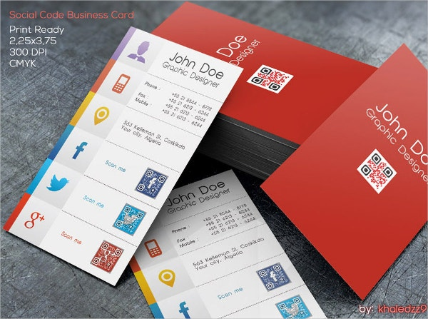 Editable Business Card Template