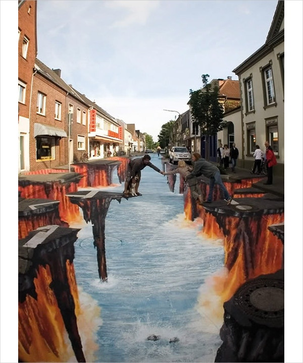 awesome 3d street art