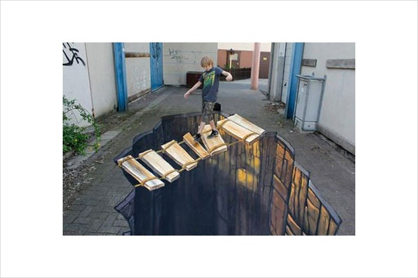 20 best of 3d street art