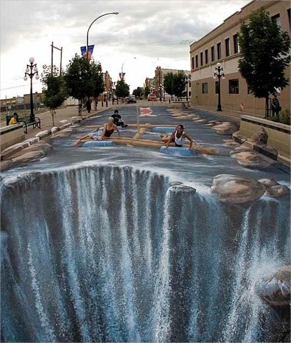 3d Street Water Art