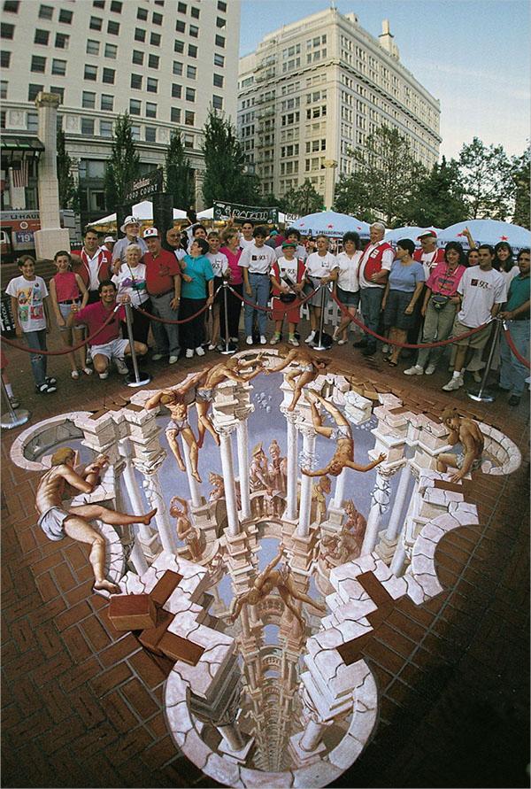10+ Amazing 3D Street Art