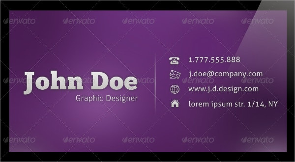 23 glossy business cards free psd ai eps format for Rounded corner business card template
