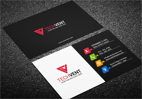 Corporate Glossy Business Card
