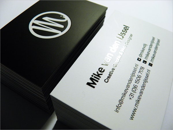 Glossy Laminated Business Card