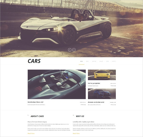 Automobiles & Cars Joomla Template