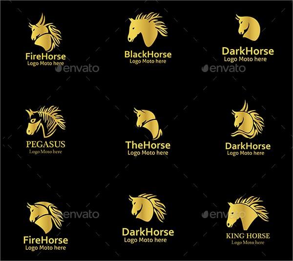 Vintage Horse Logos