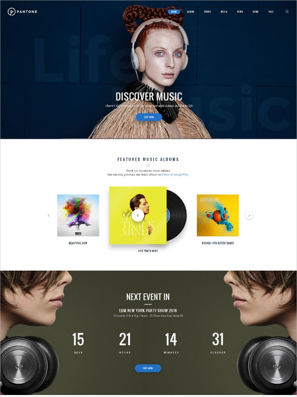 Music & Entertainment Club Joomla Theme