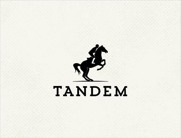 Riding Horse Logo