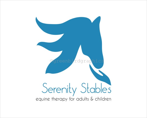 Customizable Horse Logo