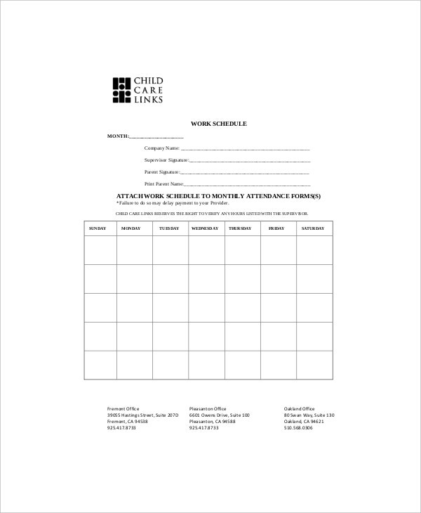 sample daily task planner for workout