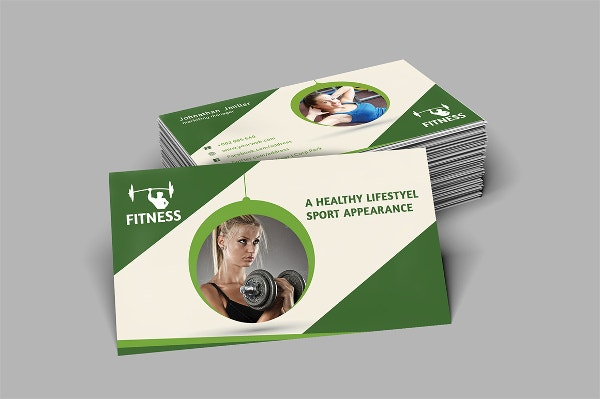 22 fitness business cards free psd ai vector eps format simple fitness business card template accmission Choice Image