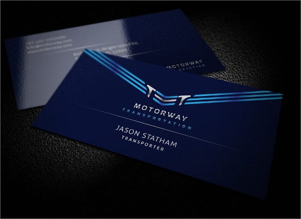 Automotive Service Business Card
