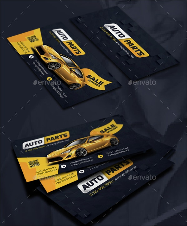 19+ Automotive Business Cards - Free PSD, AI, EPS Format Download ...