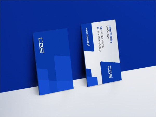 Automotive Company Business Card