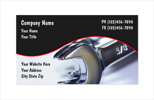 Auto Spare Parts Business Names Carnmotorscom - Free customizable business card templates