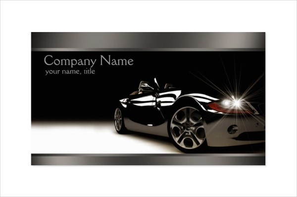 25  automotive business card templates