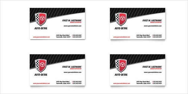 22 automotive business cards free psd ai eps format download auto detailing business card reheart Gallery