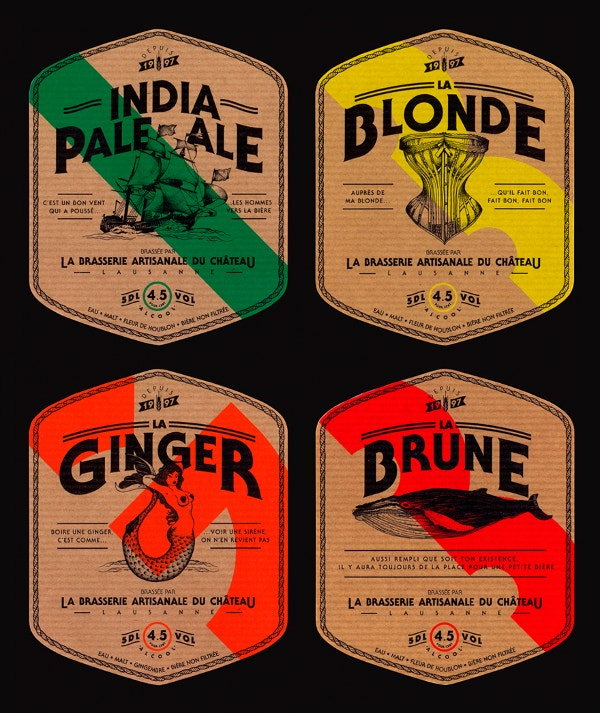 Ginger Beer Label