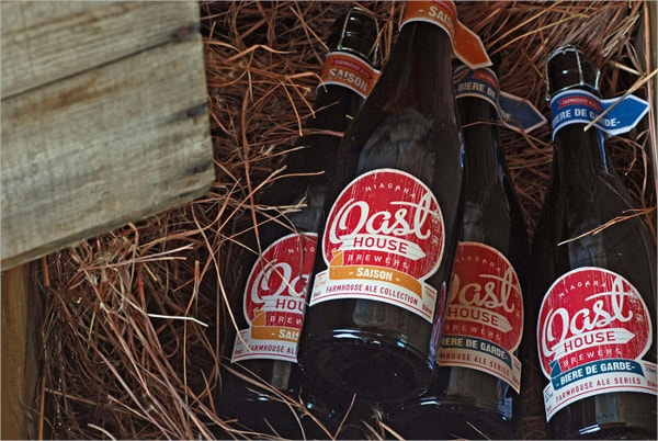 Oast House Label Design