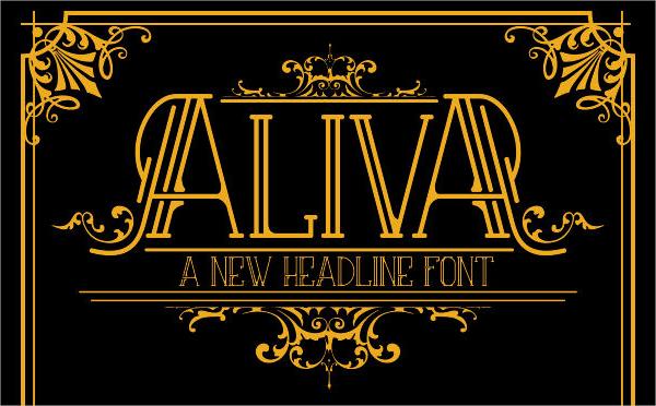 Logo Type Vintage Poster Font