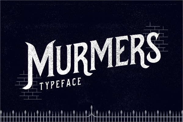Murmers Typeface