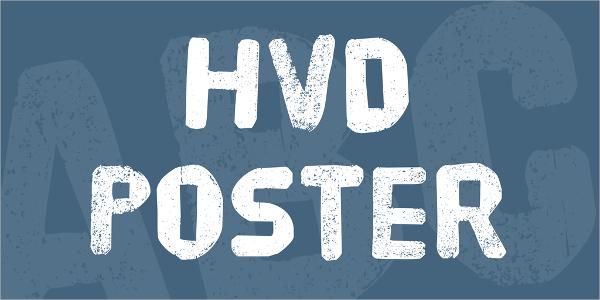 HVD Poster Font