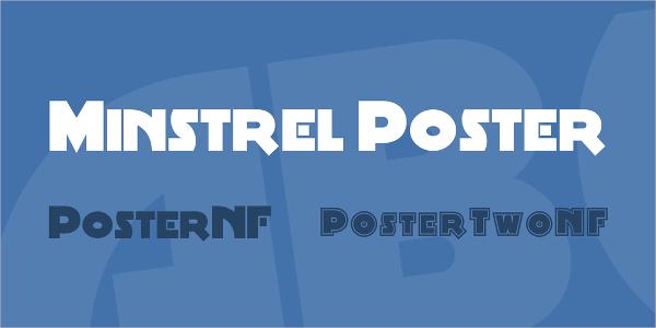 Minstrel Poster Font