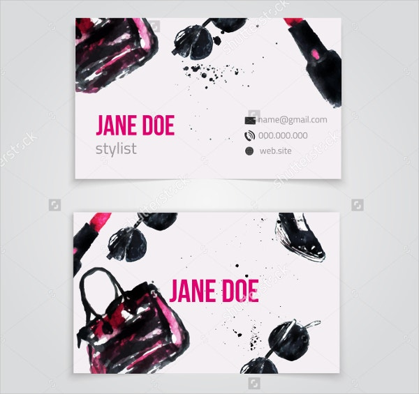 Stylish Fashion Business Card