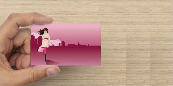 editable fashion business card template
