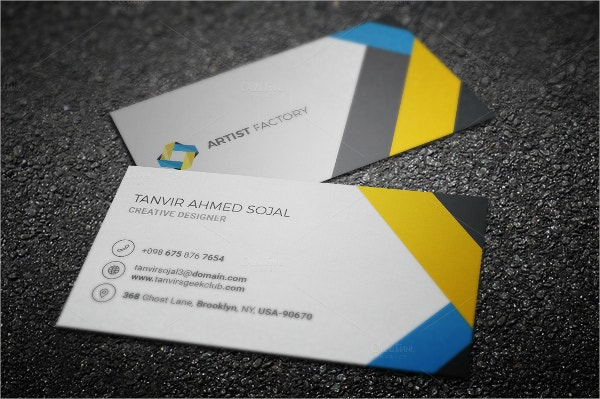 33 artist business cards free psd ai vector eps format professional business card template colourmoves