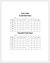 Academic Daily Planner for Teacher