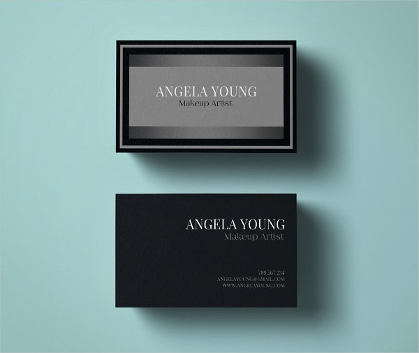 33 artist business cards free psd ai vector eps format makeup artist business card template cheaphphosting Image collections