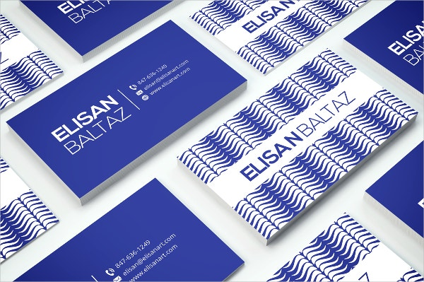 graphic artist business card