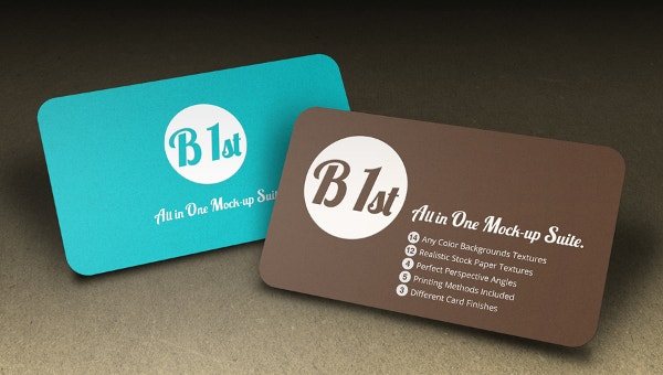 embossed business card templates