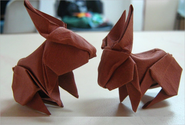 Rabbit Paper Art