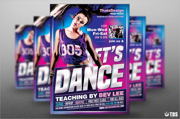 Street Hip Hop Flyer Template