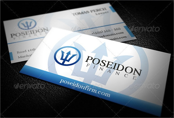 Law Firm Business Card