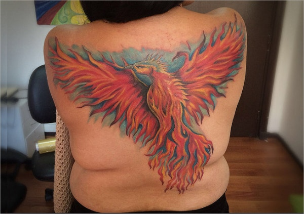 Phoenix Tattoo Ink Design