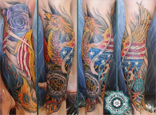 American Phoenix Tattoo