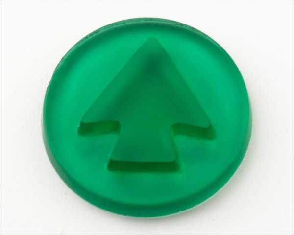 Glass Arrow Buttons